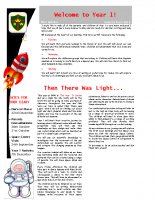 Yr 1 Autumn Newsletter 2015