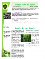 Yr 1 Summer Newsletter 2015