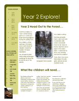 Yr 2 Forest Schools Newsletter Spring 2015