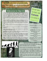 Yr 6 Autumn Newsletter 2015