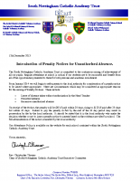 Penalty Notice Letter