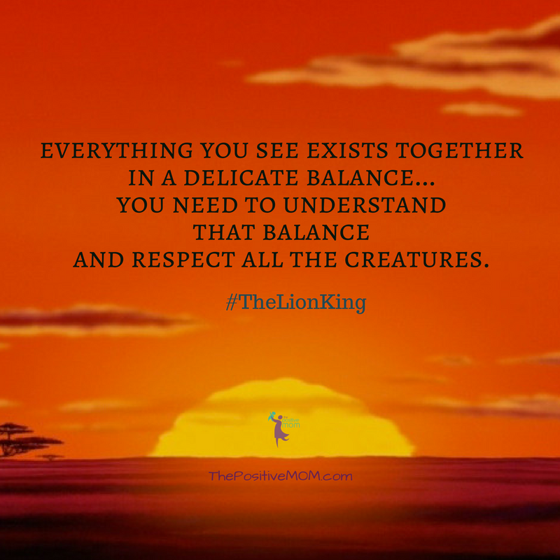 Respect All The Creatures The Lion King Quote Brw Academy Blog