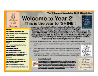 Year 2 Autumn 2019 Newsletter