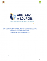 OLoL Safeguarding and Child Protection Policy 2019-20