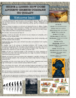 Year 6 Spring 2020 Newsletter